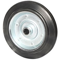 SCA Wheel Metal Rim - 250 x 50mm, Rubber, , scaau_hi-res