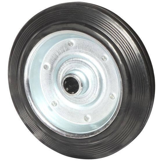SCA Wheel Metal Rim - 250 x 50mm, Rubber, , scaau_hi-res