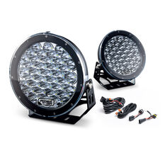 Ridge Ryder 224mm LED Driving Lights 135W with harness, , scaau_hi-res