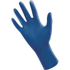SAS Thickster Latex Gloves - Blue, Medium, 50 Pieces, , scaau_hi-res