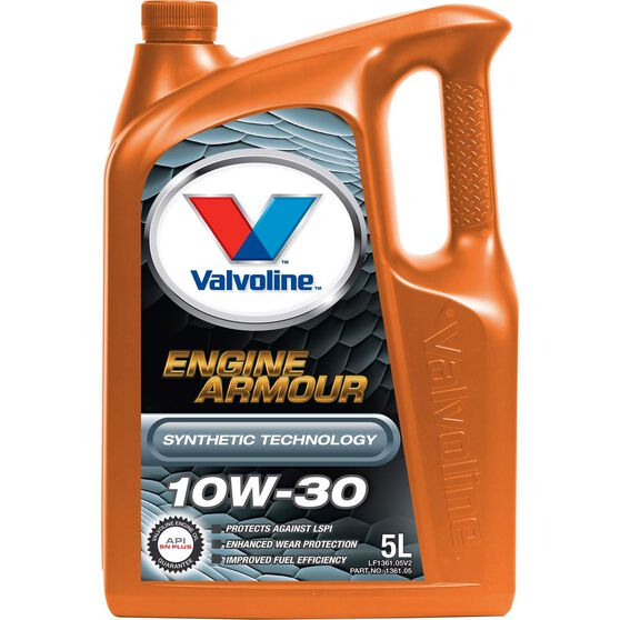 Valvoline Engine Armour Engine Oil - 10W-30 5 Litre, , scaau_hi-res