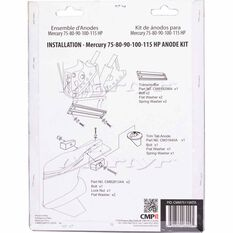 Martyr Alloy Outboard Anode Kit -CMM75115KITA, , scaau_hi-res