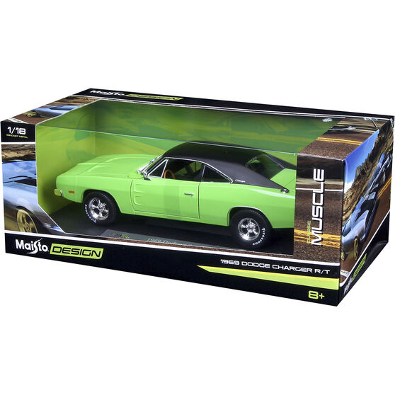 Die Cast, 1969 Dodge Charger - 1:18 scale model, , scaau_hi-res