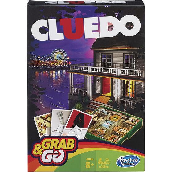 Hasbro Grab&Go Travel Game Cluedo, , scaau_hi-res