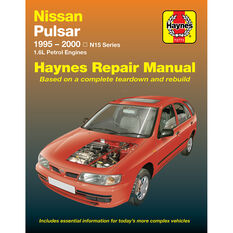 Haynes Car Manual For Nissan Pulsar 1995-2000 - 72773, , scaau_hi-res