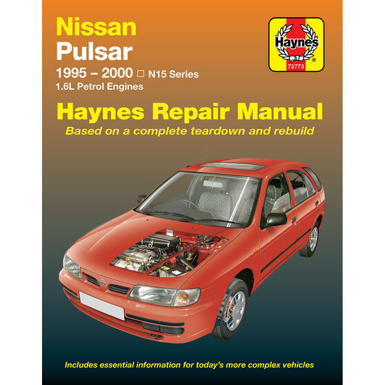 Haynes Car Manual For Nissan Pulsar 1995-2000 - 72773, , scaau_hi-res