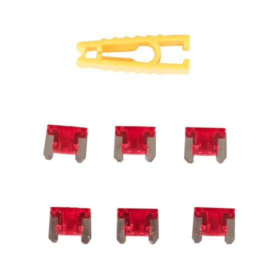 SCA Fuse Micro Blade - 10 AMP, 6pce, , scaau_hi-res