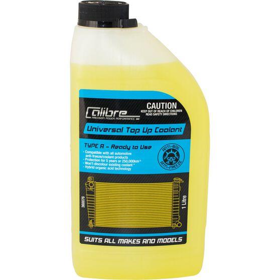 Calibre Univeral Yellow Coolant Premix Coolant - 1 Litre, , scaau_hi-res