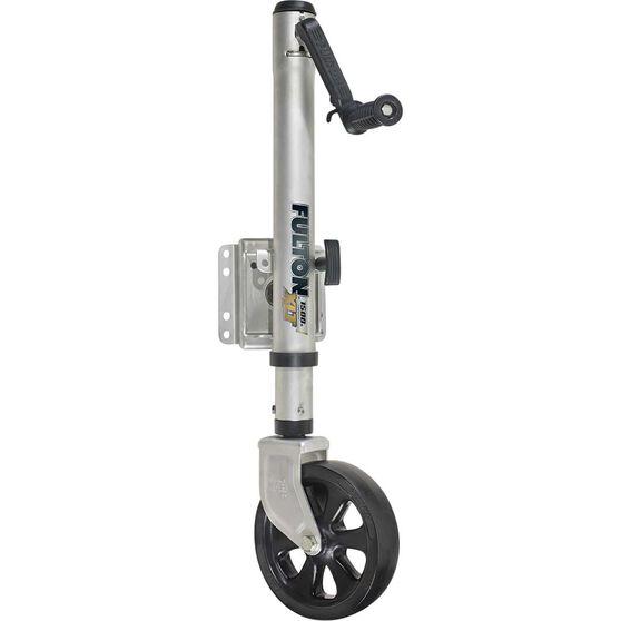 Fulton Swivel Jockey Wheel - 12 inch, 1500LB, , scaau_hi-res
