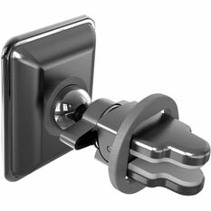 Cabin Crew Phone Holder - Vent Mount, Magnetic, Black, , scaau_hi-res