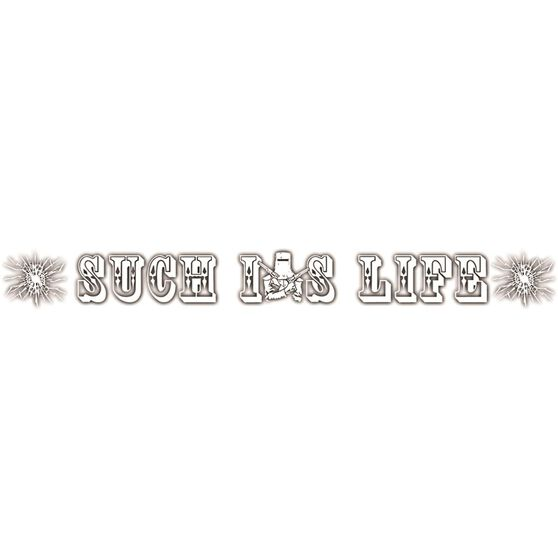 Hot Stuff Sticker - Such Is Life Ned Kelly Windscreen, Vinyl, , scaau_hi-res