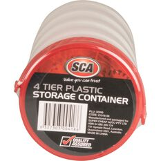 Best Buy Round Plastic Storage Containers - 4 Pack, , scaau_hi-res