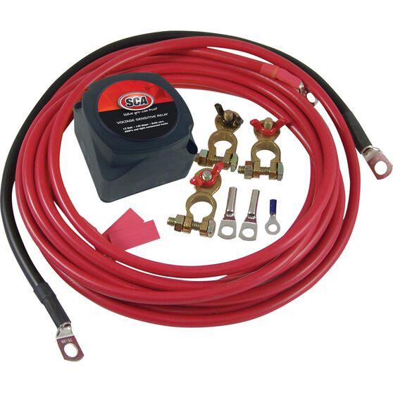 SCA 12V 140 Amp Dual Battery Kit, , scaau_hi-res