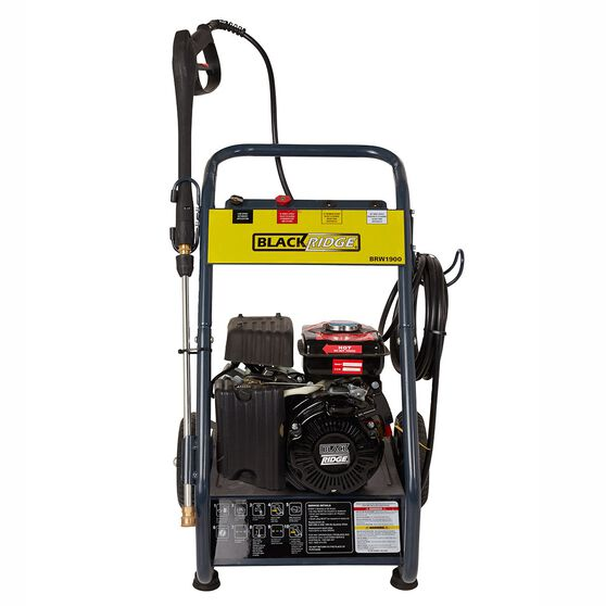 Blackridge Petrol Pressure Washer - 2.6HP, 1900 PSI, , scaau_hi-res