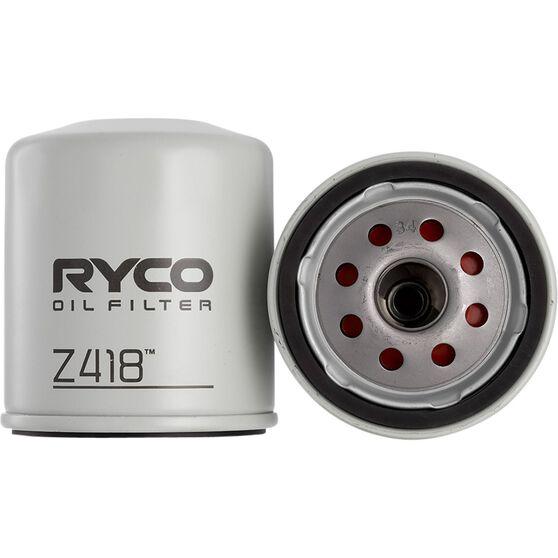 Ryco Oil Filter - Z418, , scaau_hi-res