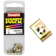 Champion Speed Nuts (Clips) - 6G, BH099, Handy Pack, , scaau_hi-res