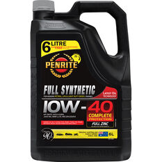 Penrite Full Synthetic Engine Oil 10W-40 6 Litre, , scaau_hi-res