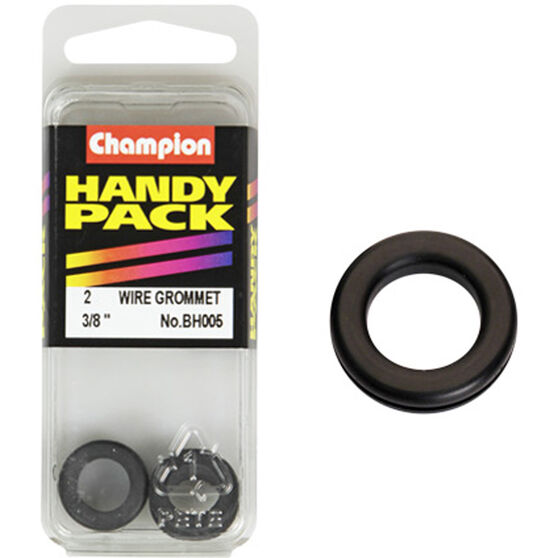 Champion Wiring Grommet - 3 / 8inch, BH005, Handy Pack, , scaau_hi-res