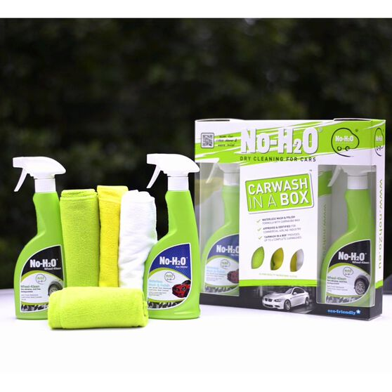 No H2O Car Wash In A Box Kit - 6 Piece, , scaau_hi-res