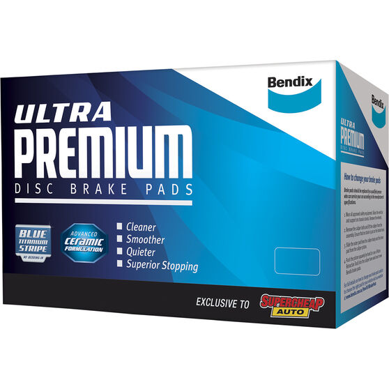 Bendix Ultra Premium Disc Brake Pads - DB1333UP, , scaau_hi-res
