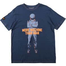 More Man Than Machine T-Shirt  - Black, , scaau_hi-res