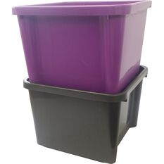 SCA Plastic Storage Bin 30 Litre, , scaau_hi-res