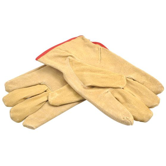 Gripwell Work Gloves - Leather, Large, , scaau_hi-res