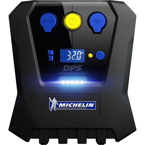 Michelin Tyre Inflator - Rapid ,Digital, 12V, , scaau_hi-res
