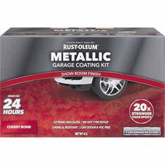 Rustoleum Metallic Cherry Bomb Floor Kit 1-Car Garage, , scaau_hi-res