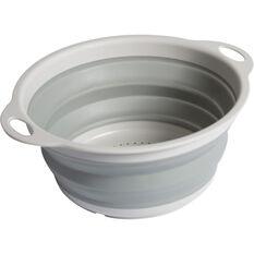 Collapsible Colander - Grey, , scaau_hi-res