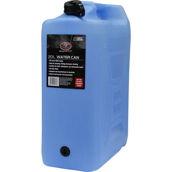 SCA Water Carry Can - 20 Litre, Blue, , scaau_hi-res
