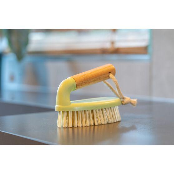 Bamboo Scrubbing Brush, , scaau_hi-res
