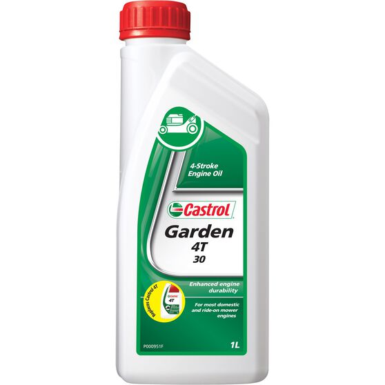 Castrol 4T 4 Stroke Lawnmower Oil - 1 Litre, , scaau_hi-res