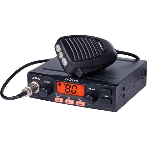 Oricom UHF CB Radio 5W UHF030, , scaau_hi-res