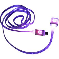 SCA LED Light-up Micro USB to USB Cable, , scaau_hi-res