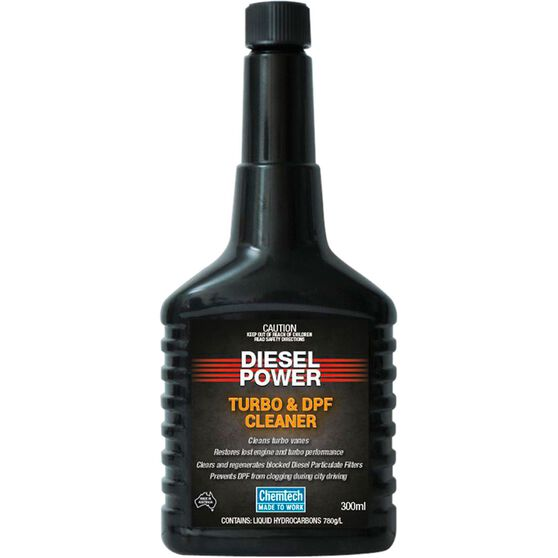 Chemtech Diesel Power Turbo & DPF Cleaner 300mL, , scaau_hi-res