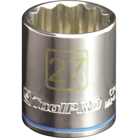 ToolPRO Single Socket - 1 / 2 inch Drive, 27mm, , scaau_hi-res