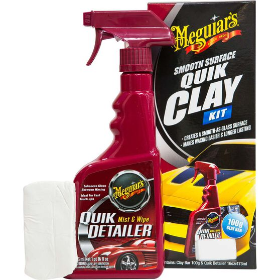 Meguiar's Smooth Quick Clay Kit, , scaau_hi-res