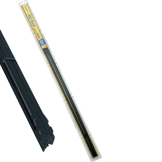 Tridon Wiper Refills - Metal Rail Mid Back, Tapered, Suits 7.5mm, 2 Pack, , scaau_hi-res