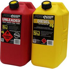 Pro Quip Petrol Jerry Can 10 Litre, , scaau_hi-res