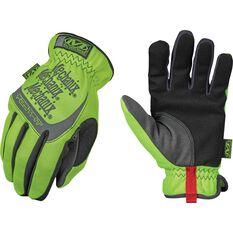 Safety Fastfit Gloves - Hi-Vis, Mens, Large, , scaau_hi-res