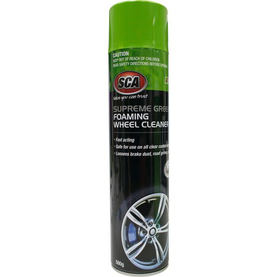 SCA Supreme Green Foaming Wheel Cleaner 500g, , scaau_hi-res