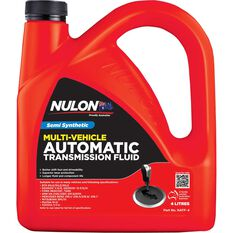 Nulon Automatic Transmission Fluid - 4 Litres, , scaau_hi-res