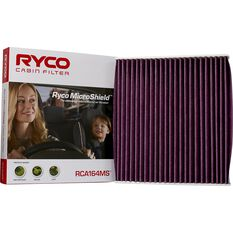 Ryco Cabin Air Filter Microshield RCA164MS, , scaau_hi-res