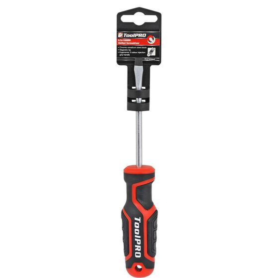 ToolPRO Screwdriver - Slotted, 6.5 x 100mm, , scaau_hi-res