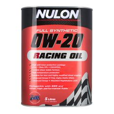Racing Engine Oil - 0W-20, 5 Litre, , scaau_hi-res