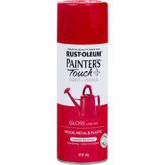 Rustoleum Aerosol Paint - Painters Touch Plus, Chile Red, , scaau_hi-res
