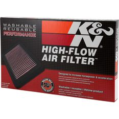 K&N Air Filter 33-2852 (Interchangeable with A1575), , scaau_hi-res