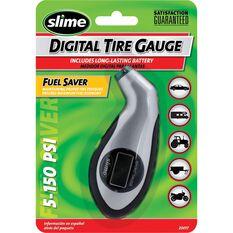Slime Digital Sport Tyre Gauge - 0-150 PSI, , scaau_hi-res