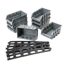 SCA Parts Bin Tray Set With Rail 8 Piece, , scaau_hi-res